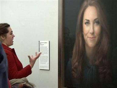 Kate's Portrait Gets a Not So Royal Reception