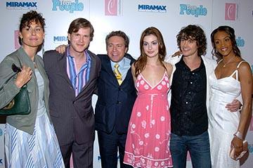 Premiere: Minnie Driver, Cary Elwes, Tommy O'Haver, Anne Hathaway, Hugh Dancy and Vivica A. Fox at the New York premiere of Miramax's Ella Enchanted - 3/28/2004