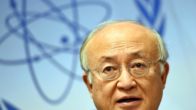 "UN watchdog chief Yukiya Amano (pictured) said that ""with the cooperation from Iran I think we can issue a report by the end of the year on the ... clarification of the issues related to possible military dimensions."""