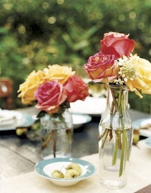 Glass Bottle Vases