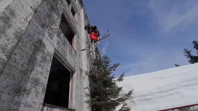 Tower Block Skiing