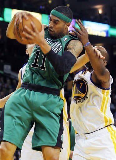 Warriors whip short-handed Celtics 101-83
