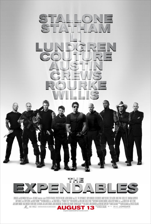The Expendables Poster Production Stills Lionsgate 2010