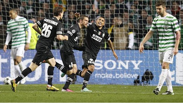 Champions League - Ruthless Juventus punish Celtic errors