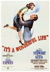 It's A Wonderful Life is a holiday classic with Jimmy Stewart and Donna Reed directed by Frank Capra