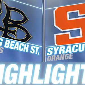 Long Beach State vs Syracuse | 2014-15 ACC Men's Basketball Highlights