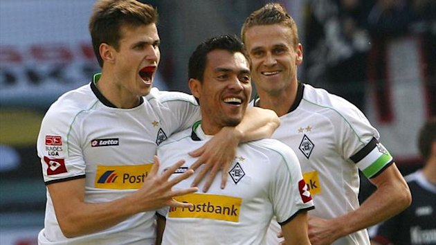2012 Bundesliga Gladbach Frankfurt