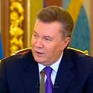 Ukraine's Yanukovich says Russia bailout money not aimed against Europe