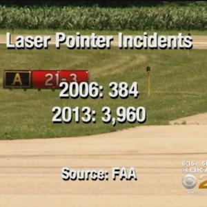 FAA Searching For Person Who Shined Laser At UPS Plane