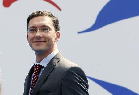 Bulgaria's Foreign Affairs Minister Mitov arrives for an informal meeting of the EU Foreign Affairs Ministers in Milan