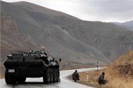 PKK and Turkish troops in deadly clashes