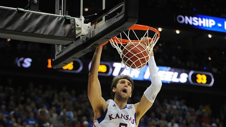 NCAA Basketball: NCAA Tournament-3rd Round-Kansas vs North Carolina