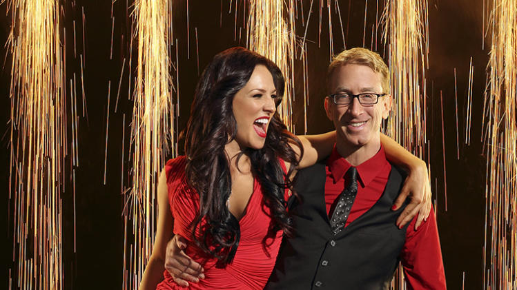 """Dancing with the Stars"" Season 16 SHARNA BURGESS, ANDY DICK"