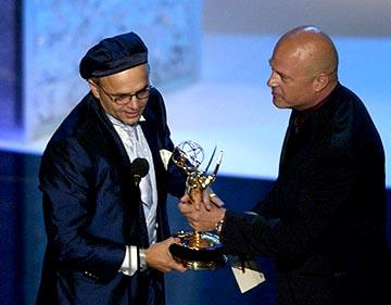 Joe Pantoliano, Michael Chiklis 55th Annual Emmy Awards - 9/21/2003