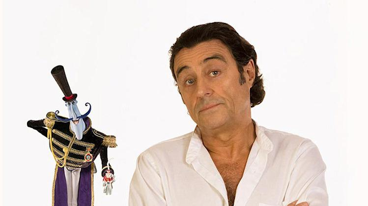 Ian McShane Coraline Production Stills 2008 Focus Features