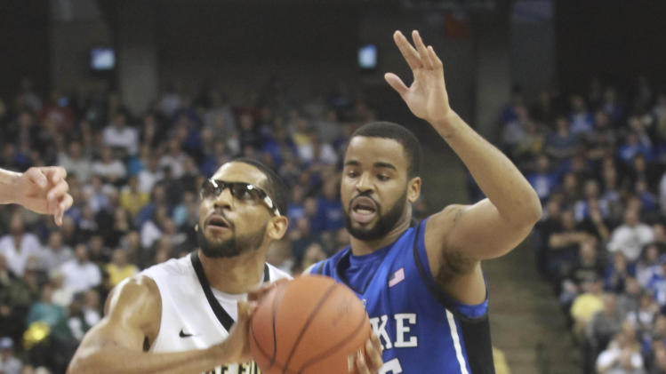 NCAA Basketball: Duke at Wake Forest