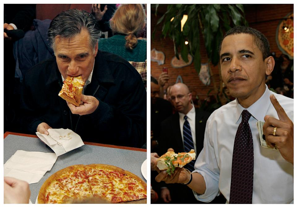 Could pepperoni spoil presidential debate?