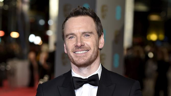 Michael Fassbender arrives at the British Academy of Film and Television Arts (BAFTA) Awards at the Royal Opera House in London