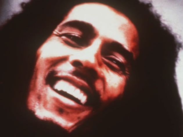 The legend of Bob Marley (pictured) lives on in grandson Nico Marley -- AP