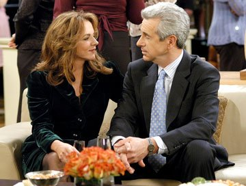 Stockard Channing and James Naughton CBS's Out of Practice
