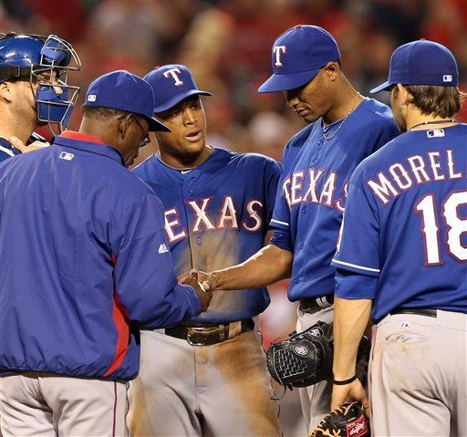 Kendrick's HR in 11th lifts Angels over Rangers