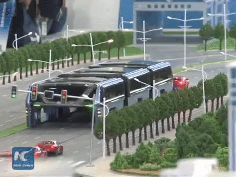 Can China's Futuristic 'Straddling Bus' Finally Become a Reality?
