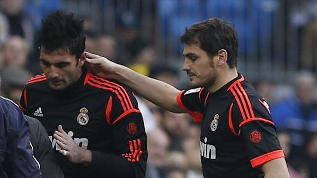 antonio adan, iker casillas