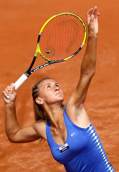 Ukrainian Leisa Tsurenko Returns AFP/Getty Images