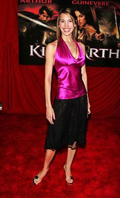 Christy Romano at the New York premiere of Touchstone Pictures' King Arthur