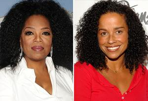 Oprah Winfrey, Rae Dawn Chong | Photo Credits: Jason LaVeris/FilmMagic; Mark Sullivan/WireImage