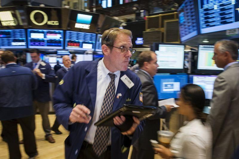 Wall Street rises in volatile session ahead of jobs data
