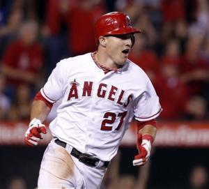 Trout leads Angels' comeback over Rangers