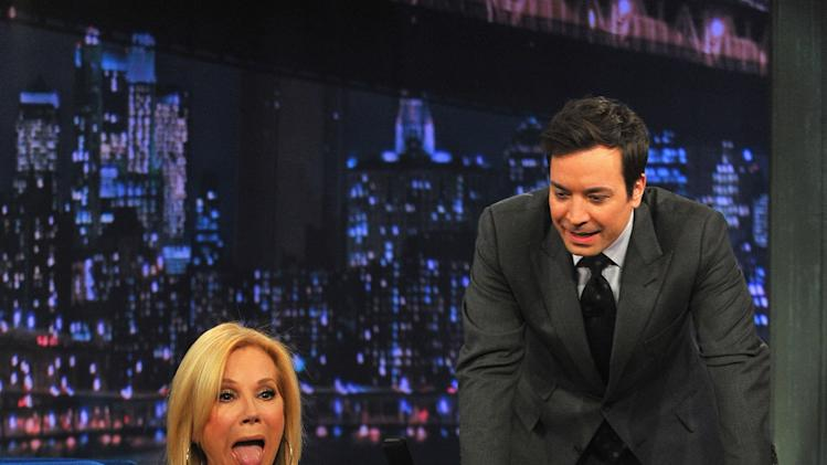 "Katie Lee Gifford Visits ""Late Night With Jimmy Fallon"""