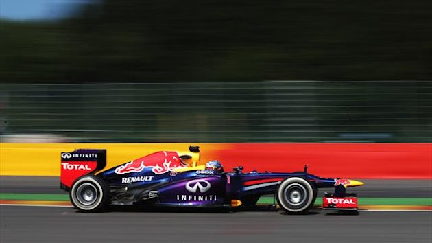 2013 GP of Belgium Red Bull Vettel