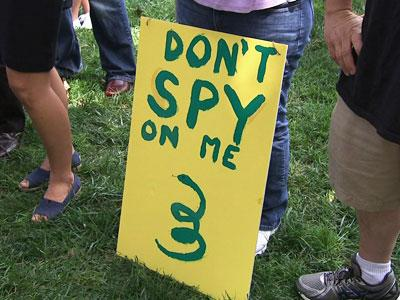 Hundreds Protest NSA Surveillance in Washington,