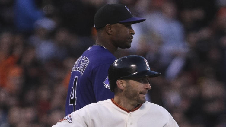 MLB: Colorado Rockies at San Francisco Giants
