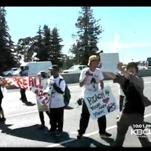 Protesters Demand Justice For Santa Rosa Boy Killed By Deputy, Block Highway 101