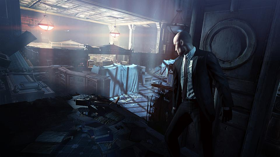 "This video game image released by Square Enix shows a scene from ""Hitman: Absolution."" (AP Photo/Square Enix)"