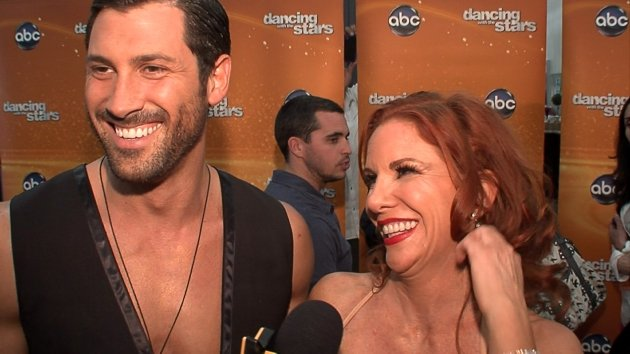 Melissa Gilbert Feels Like The 'Luckiest Woman' To Dance With The Chmerkovskiy Brothers -- Access Hollywood