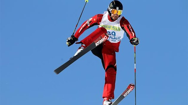 Nick Zoricic of Canada competes during the 2010 Freestyle Skiing World Cup Ski Cross at Whiteface Mountain in this January 23, 2010 file photo in Lake Placid, New York