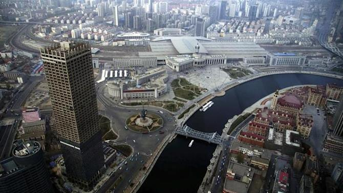A general view of centre Tianjin taken from Tianjin World Financial Center, April 15, 2013. REUTERS/China Daily/Files