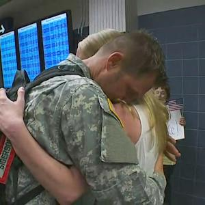 National Guard Company Returns To Minn. From Egypt
