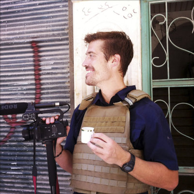 CLICK IMAGE for slideshow: This photo posted on the website freejamesfoley.org shows journalist James Foley in Aleppo, Syria, in July, 2012. The famil...