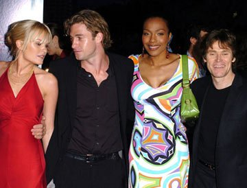 Premiere: Sunny Mabrey, Scott Speedman, Nona Gaye and Willem Dafoe at the Westwood premiere of Columbia Pictures' XXX: State of the Union - 4/25/2005 