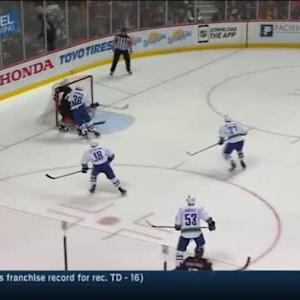 Ryan Miller Save on Ryan Kesler (07:07/2nd)