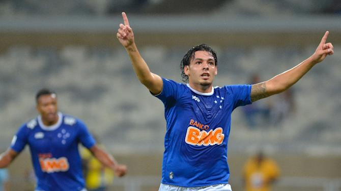 Before joining China's Super League, Brazilian Ricardo Goulart played for Peruvian club Real Garcilaso, as picture here in April last year