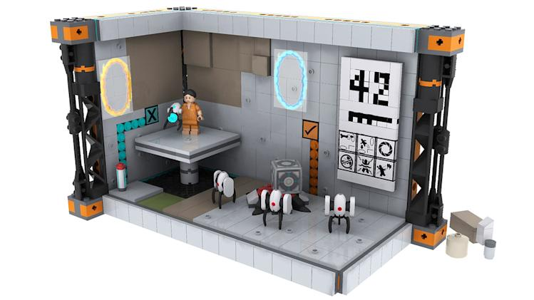 Is a LEGO Version of Portal Coming to a Store Near You?
