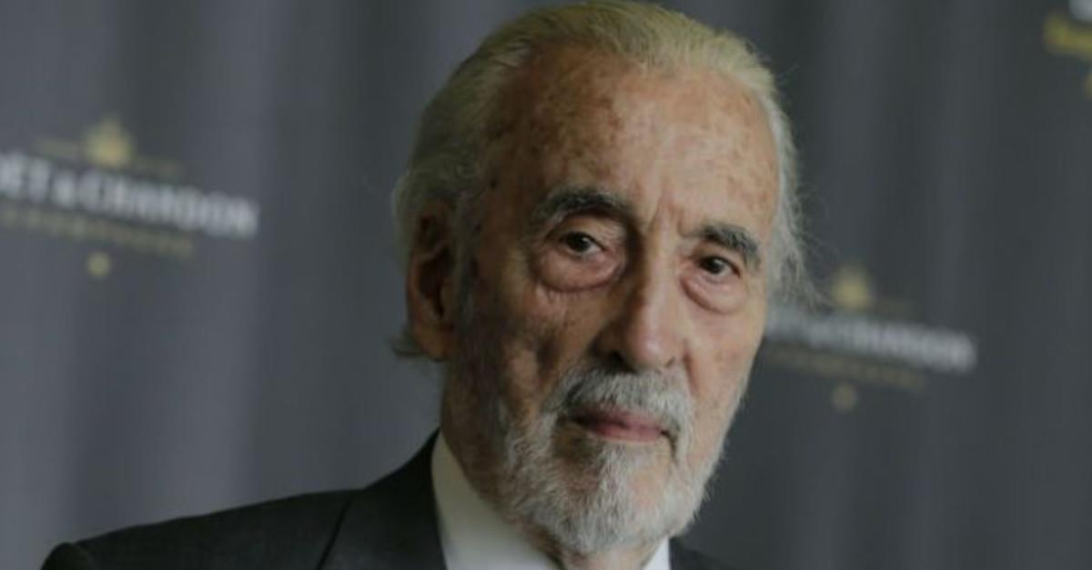10 Things You Never Knew About Sir Christopher Lee