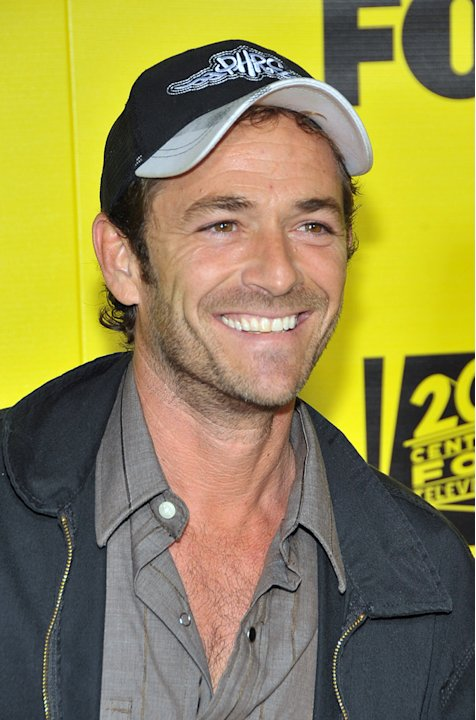 Luke Perry Simpsons Party