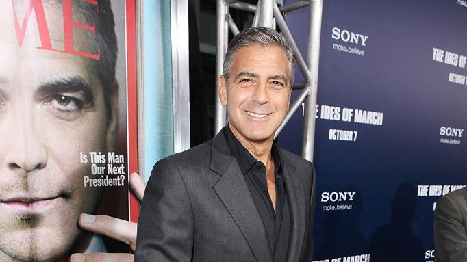 Ides of March LA Premiere 2011 George Clooney